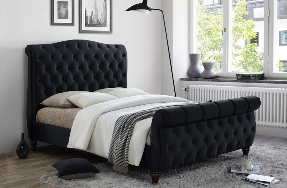Colorado Black | Upholstered Frames at Elephant Beds, Cardiff | UK ...