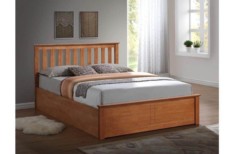 Phoenix Ottoman Oak | Ottoman Frames At Elephant Beds, Cardiff | UK Bedroom  Furniture