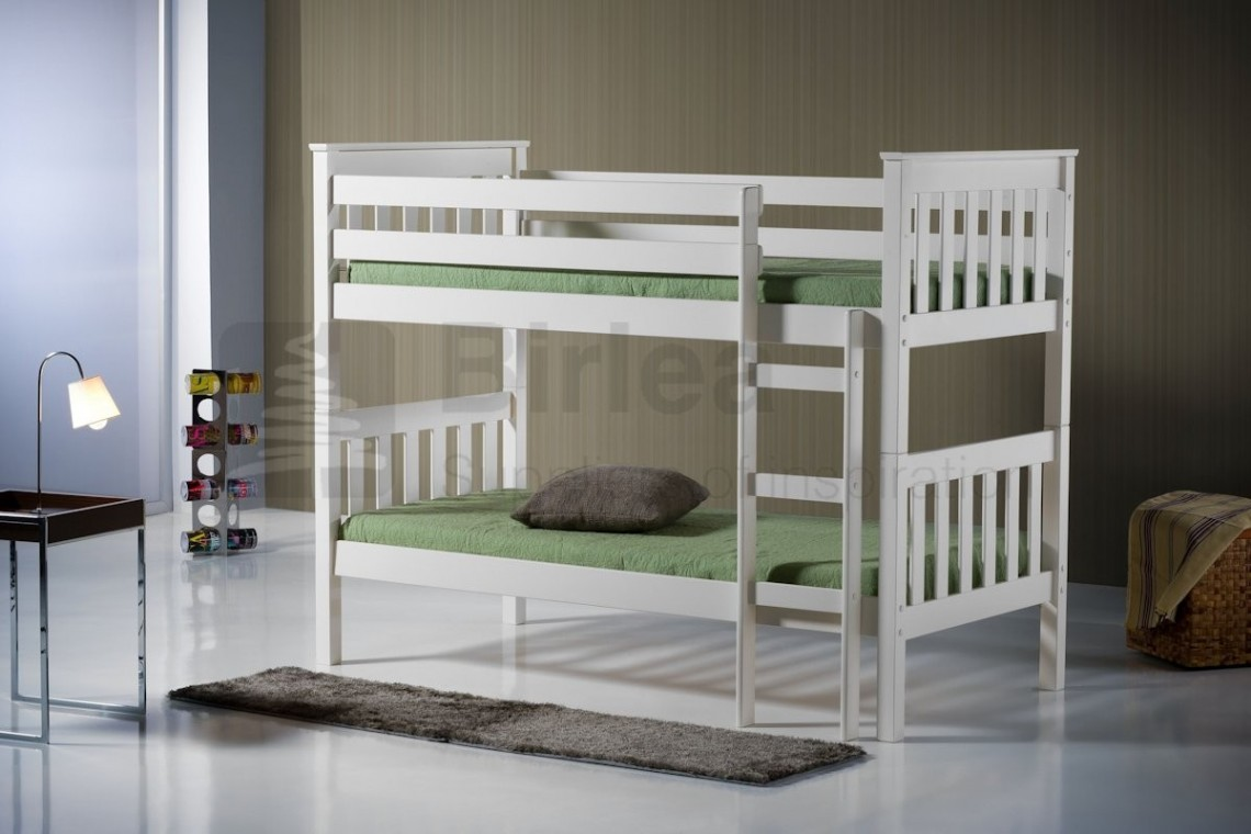 Seattle Ivory | Bunks at Elephant Beds, Cardiff | UK bedroom furniture