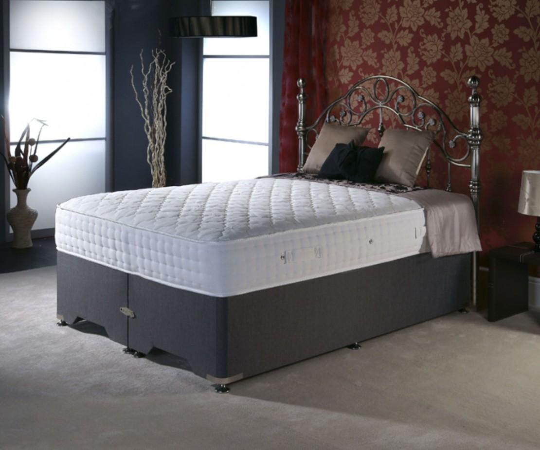 Celeste 3000 divan set pocket sprung divans at elephant for Divan bed set