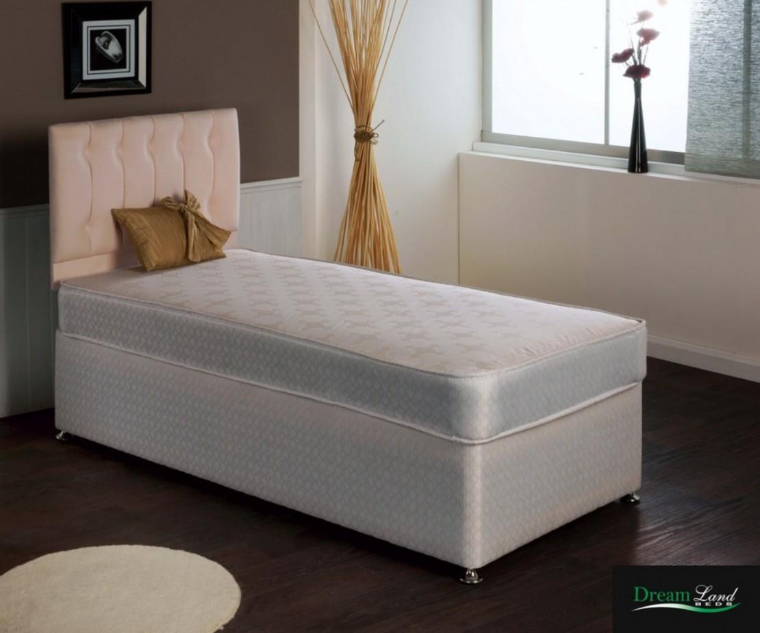 Geran divan set open coil divans at elephant beds for Divan set beds