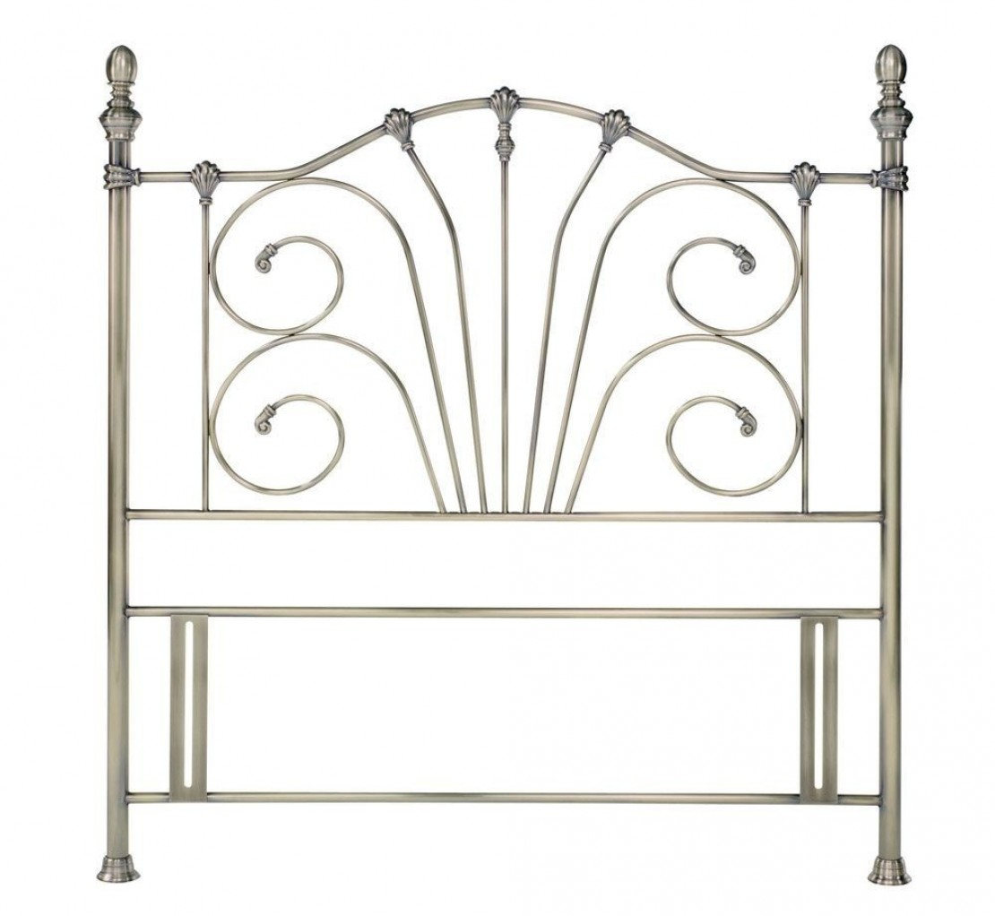 Jessica Antique Brass Headboard Headboards At Elephant Beds Cardiff Uk Bedroom Furniture